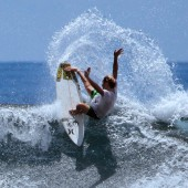 josh piper, beachbeat surfboards model the disco