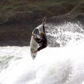 beachbeat surfboards josh piper riding the disco shortboard