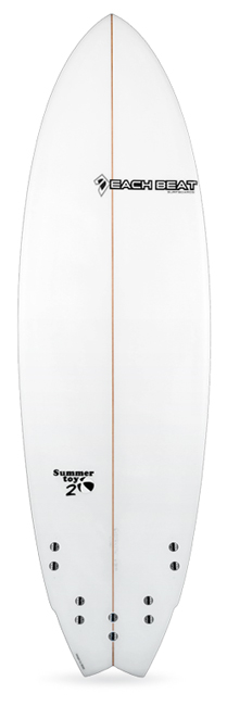 beachbeat surfboards summer toy 2 model, five fin performance fish