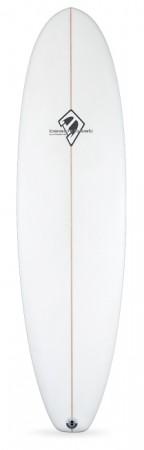 beachbeat, surfboards, slipper, 2+1, two, plus, one, longboard, midrange
