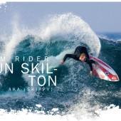 beachbeat surfboards team rider shaun skippy skilton
