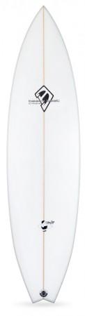 beachbeats fat boy flyer, intermediate level mid range surfboard