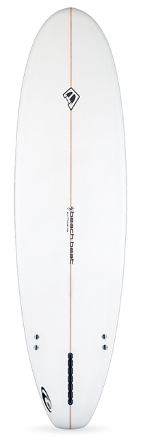 beachbeat, surfboards, slipper, 2+1, two, plus, one, longboard, midrange